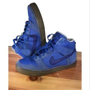 Nike Dunk High LR GAME LOYAL BLUE SHOES 487924-440